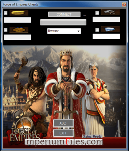 Unlimited supplies forge of empires