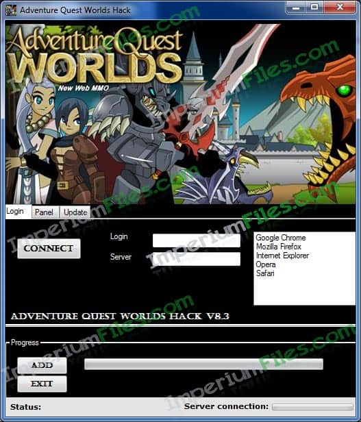 Adventure Quest Worlds Hack v8.3