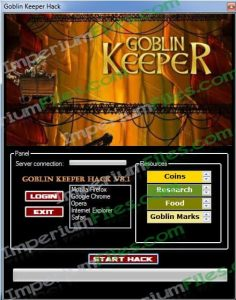 Goblin Keeper Hacks